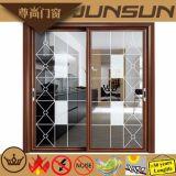 Porte s'arrêtante en aluminium de fabrication d'usine de Huiye de temps de Foshan