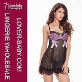 Пижамы сексуального женское бельё установленные горячие для женщин (L2174-1)