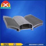 SCR Heatsink van de Uitdrijving van het aluminium van Legering van het Aluminium 6063 wordt gemaakt die