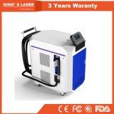 macchina di pulizia del laser della fibra di 100W 200W 500W per rimozione dell'olio della vernice della ruggine