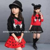 Las niñas Camiseta de manga larga y falda se adaptan a los niños ropa