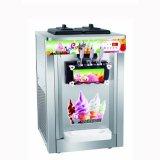 Macchina di pulizia dell'acciaio inossidabile di servire del gelato molle automatico e del yogurt Frozen