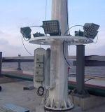 25m Galvanziedの下がり、上昇システムが付いている高いマストタワー