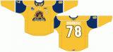 Customized Homens Mulheres Crianças Quebec Grande Liga de Hóquei Jr Shawinigan Cataractes 2006-2012 Suplente Hóquei no Gelo Jersey