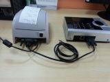 De Output van het Af:drukken van de Steun van de Opkomst van de Tijd van de vingerafdruk (output 3000TC/print)