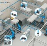 Conexiones anodizadas aluminio del conducto de aire