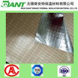 Feuille de film en aluminium de feuille de papier d'aluminium Scrim Kraft Coat Rockwool