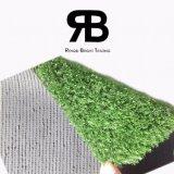 Grama artificial sintética do relvado do gramado da decoração
