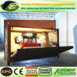 Het Geprefabriceerde huis van lage Kosten prefabriceerde het Waterdichte Huis van de Container van de Staaf van de Winkel van de Koffie