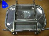 Acero inoxidable SS304/EPDM de Manway del tanque rectangular sanitario