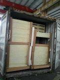 Painel do plutônio para o armazenamento frio