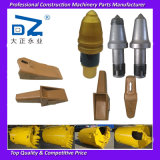 piezas de repuesto de la excavadora dientes de la cuchara para máquina de perforación