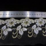 Acessórios de vestuário Net bordados de fios de tecido Lace Water-Soluble Têxteis Passamanarias