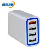 Schnelle Wand-Aufladeeinheit 4 der Ladung-3.0 USB-Kanal-Arbeitsweg-Aufladeeinheits-Handy-Aufladeeinheit