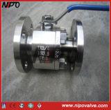 Válvula de esfera flutuante forjada do corpo 2 PC (Q41)