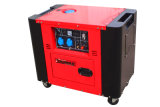 Yarmax Ym9700t 5kVA-6kVA определяет генератор цилиндра молчком охлаженный воздухом тепловозный