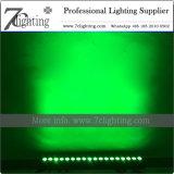 Iluminación no impermeable de la barra del pixel LED de la pared de la colada de la barra ligera de 18X10W RGBW LED