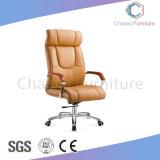 普及した明るいカーキ色のオフィスの革張りのいすの管理の椅子(CAS-EC1831)