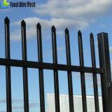 강철 방호벽 또는 정면 검술 (h) 90mm 창 까만 위원회 2400X1500 간격