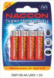 R6P AA 1,5V Bateria Seca de zinco de carbono
