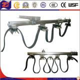 電流を通された鋼鉄C柵ケーブルの花飾りシステム