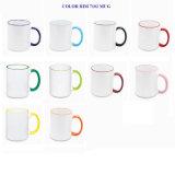 De beste Verkopende Mok van Galized van de Kleur van de Mok van de Koffie van het Porselein van Cramic van het Punt van de Gift van Producten Leuke