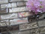 Mosaico di striscia di pavimentazione freddo di vetro (CFS693)