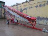 Motor de gasolina de la presión hidráulica móvil cinta transportadora para la madera de registro