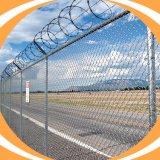 Australia el Estándar de Calidad de enlace de la cadena de acero exterior valla de seguridad