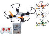 2.4G 4 canales mini modelo RC remoto aviones no tripulados de control con giroscopio y USB (10230833)