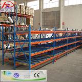 Cremalheira de aço do fluxo de pálete do armazenamento do metal ajustável