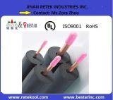 Schwarzes Gummiisolierungs-Gefäß für Abkühlung
