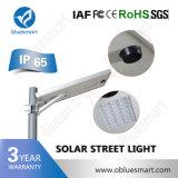 Luz de rua solar ao ar livre toda do diodo emissor de luz IP65 de Bluesmart em uma