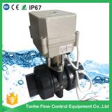 2 Elektrische Actuator van de Klep van pvc '' van de manier de MiniKogelklep van 1 1/2 Duim Gemotoriseerde Water
