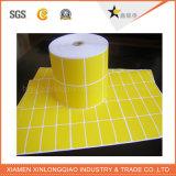 Étiqueter le PVC de papier d'imprimerie collant estampé auto-adhésif fait sur commande transparent