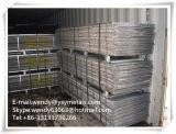 Malha de metal de material de construção