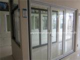Aluminium glissant la porte se pliante de patio