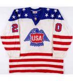 20リーFogolinを1人のピートLopresti 1976のチーム米国カナダのコップのゲームのジャージー30ヘンリクLundqvistのチームスウェーデンのオリンピックアイスホッケーのジャージカスタマイズしなさい
