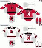 Customized Homens Mulheres Crianças Liga de Hóquei Americana Lowell Devils Lowell Devils 2007-2010 Home Road Hóquei no Gelo Jersey