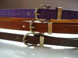 Multicolores decorativos de moda o pino de travamento do couro PU Correia de acessórios de vestuário