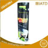 Baby Skin Care Cream를 위한 4 Layers Pop Cardboard Floor Display Stand