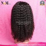 Silk Top Glue Less Cap Short peruca brasileira de cabelo integral brasileira e peruca de renda dianteira
