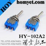 O pino 3 de alta qualidade de liga-desliga do Interruptor de Báscula em miniatura do terminal do PC 6A 125VAC o interruptor de báscula