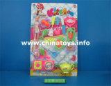Conjunto educativo de la cocina de los juguetes de la fábrica del juguete, cocinando el juguete del té (814386)