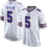 Pullover di gioco del calcio di Tyrod Taylor Jim Kelly Aaron Williams Smith della Buffalo