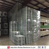 L'entrepôt de qualité a galvanisé la palette empilable en acier de la fabrication de la Chine