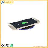 가벼운 최신 판매 셀룰라 전화 무선 충전기를 보여주는 LED를 가진 5W 무선 비용을 부과 패드