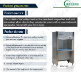 Banco de fluxo laminar vertical de aço inoxidável de aço inoxidável (SW-CJ-1D)