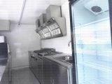 Carro móvel incluido do alimento do gelado da cozinha
