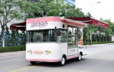 De mobiele Vrachtwagens van het Voedsel met Automatisch Tonend Kabinet